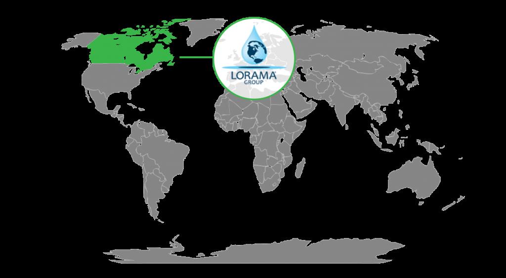 Lorama Group Canada Location