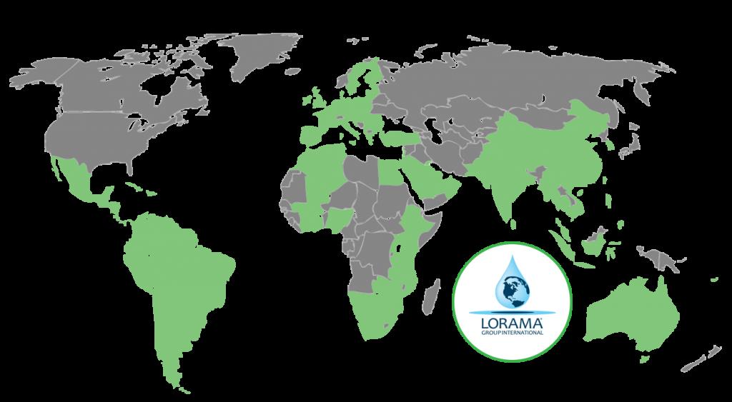Lorama Group International Countries Serviced