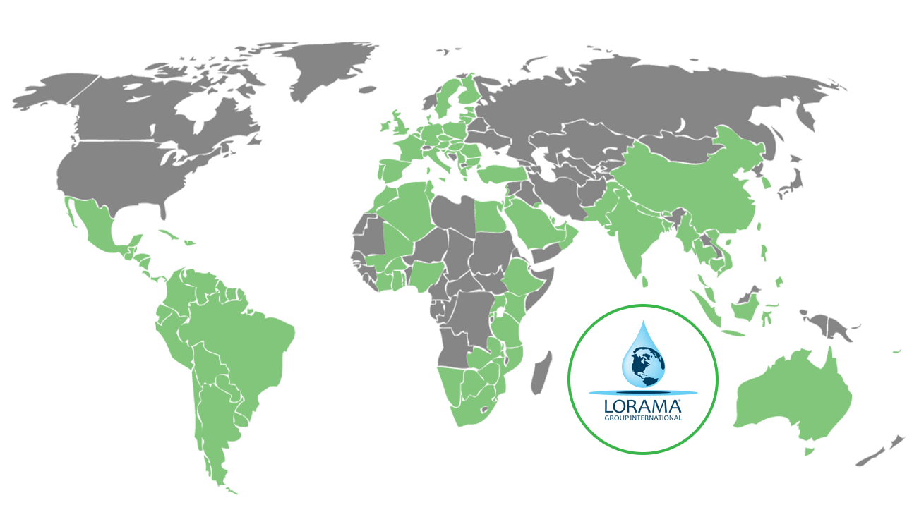 Lorama Group International Countries Serviced